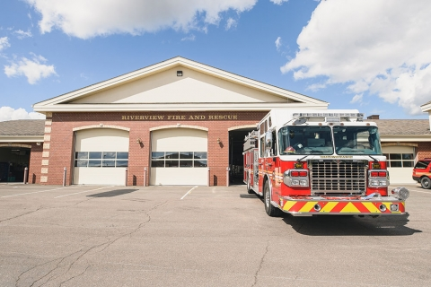Riverview fire station