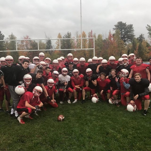@northiesbrand welcomed by awesome Riverview Royals Senior Boys Football!! Riverview Rock!!!