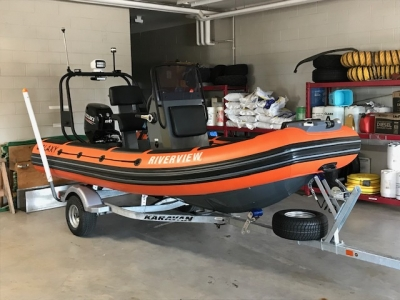 The new rescue boat