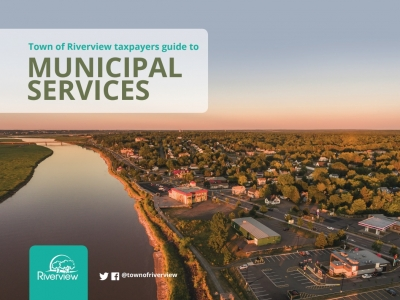 Cover of Taxpayers Guide to Municipal Services document